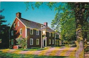 Massachusetts Sturbridge Tavern At Old Sturbridge Village 1957