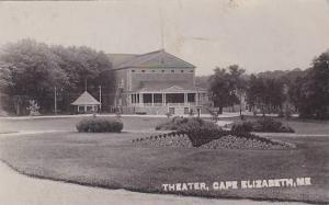 Maine Cape Elizabeth Theater 1912 Real Photo RPPC