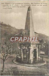 Old Vienna Postcard The Pyramid of the so-called needle Tomb Pilate assumed t...