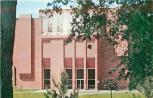 Galesburg Illinois~Monmouth College~Science Center~1970s Postcard