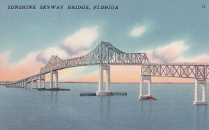 FLORIDA, 1930-1940's; Sunshine Skyway Bridge