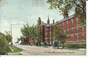 Portland,Maine, General Hospital.