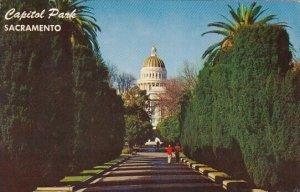 Capitol Park Sacramento California 1958