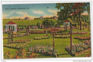 Rose Gardens, Allentown Pennsylvania - 30´s - 40´s