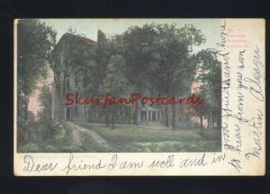AURORA ILLINOIS JENNINGS SEMINARY ANTIQUE VINTAGE POSTCARD ILL.
