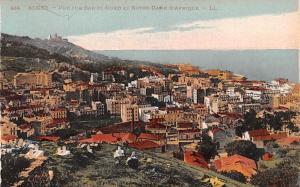 Alger Algeria, Alger, Algerie Vue sur Bab El Oued et Notre Dam D'Afrique Alge...