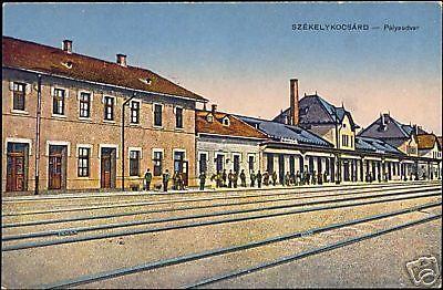 romania hungary SZEKELY KOCSARD, Station 10s Palyaudvar