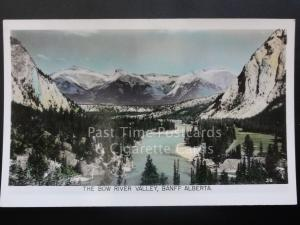 Canada: Bow River Valley, Banff, Alberta c1940's RP by Gowen Sutton Co