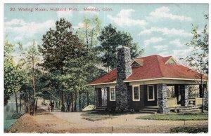 Meriden, Conn, Waiting Room, Hubbard Park