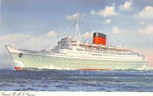 Cunard RMS Caronia Ship Unused