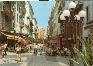 France, Nice, Rue Pietonne, 1981 used Postcard