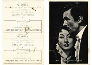 CPA AK Greer Garson, Walter Pidgeon FILM STAR (547736)