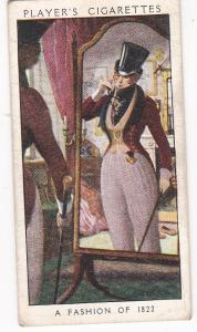 Cigarette Card Player's Dandies No 40 A Fashion of 1822