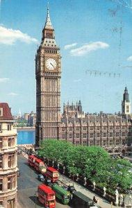 Postcard Big Ben London England