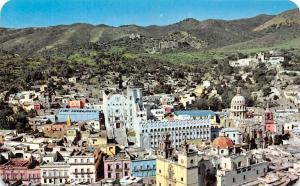 Mexico Panoramic view of Historic Guanajuato