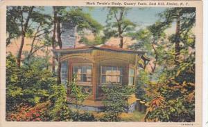 New York Elmira Mark Twain's Study Quarry Farm East Hill Curteich