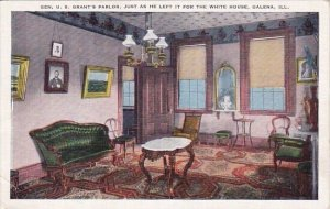 Gen U S Grant's Parlor Just As He Left It For The White House Galena Ill...