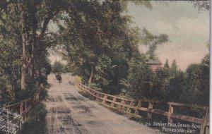 PETERBORO, Ontario, Canada, PU-1906; Sunset Pass, Gravel Road