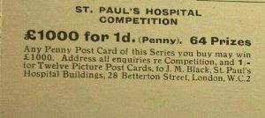UNUSED VINTAGE POSTCARD - HORSE GUARDS ST PAUL'S HOSPITAL COMPETITION (KK2153)