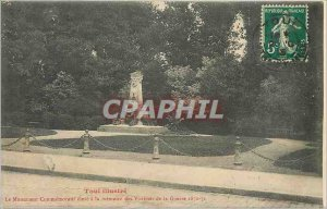 Old Postcard Toul The high Commemorative Monument to the memory of the War Vi...