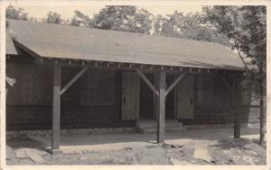 D84/ Vanderbilt Michigan Mi Real Photo RPPC Postcard Lake Louise Baptist Camp 1