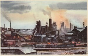 Pittsburgh & Lake Erie Railroad , 1950-60s ; Industrial Scene