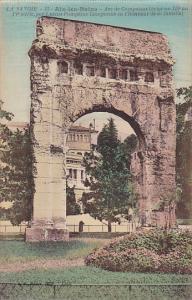 France Aix-les-Bains Arc de Campanus