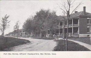 Iowa Des Moines Fort Des Moines Officers Headquarters