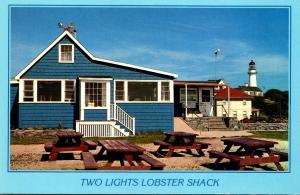 Maine Cape Elizabeth Two Lights Lobster Shack Restaurant