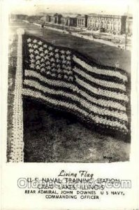 United States of America Flag, Flags, Postcard Post Card 1944