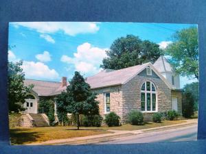 Postcard AR Berryville First Methodist Church