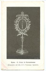 Roma, S. Croce in Gerusalemme, Reliquiario del ditto di S. Tommaso Apostolo