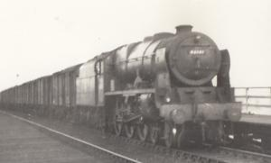 46141 Train At Hove Bridge Sussex Vintage Railway Photo