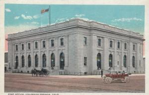 COLORADO SPRINGS, Colorado, 1900-1910's; Post Office