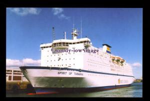 SIM0274 - TT Line Ferry - Spirit of Tasmania , built 1986 ex Peter Pan- postcard