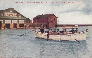 CHICAGO, Illinois, 1908 ; Life Saving Station #2
