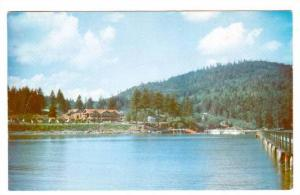 Evergreen Park Resort, The Main Lodge From Sandy Cove, Bowen Island, British ...