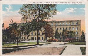 Biological Building, University of Wisconsin, MADISON, Wisconsin, PU-1924