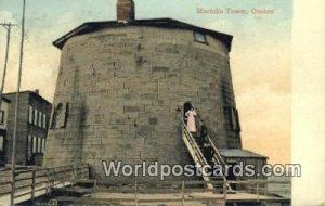 Martello Tower Quebec Canada 1909 Missing Stamp