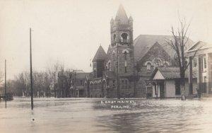 RP: PERU , Indiana , 00-10s ; East Main Street , Flood