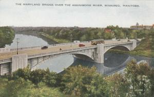 WINNIPEG , Manitoba, 1900-10s; Maryland Bridge #2