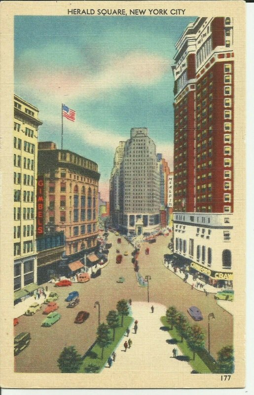 New York City, Herald Square, Street Scene