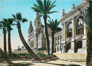 CPSM France Monaco Monte Carlo le Theatre et les Terrasses