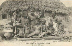 CPA AK Senegal Ethnic Nude Fortier - 1135. Jeunes Cereres (71167)