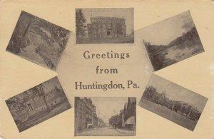 HUNTINGDON , Pennsylvania , 1908 ; 6 views