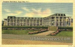 Congress Hotel  Cape May NJ Unused