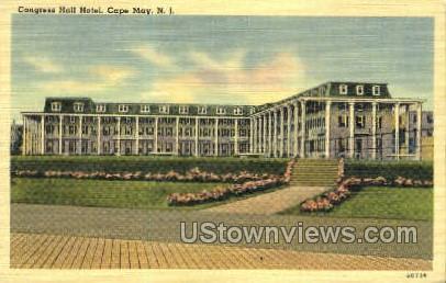 Congress Hotel  Cape May NJ Unused