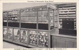 Modern Prescription Counter Eckerd's Drug Store Columbia South Carolina