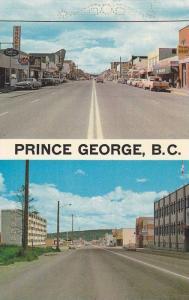 Street View , PRINCE GEORGE , B.C. , Canada , 1950-60s