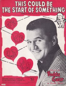 This Could Be The Start Of Something Buddy Greco 1960s Sheet Music